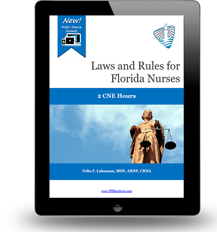 Laws and Rules for Florida Nurses