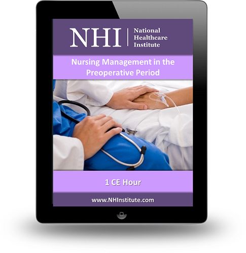 Nursing Management in the Preoperative Period