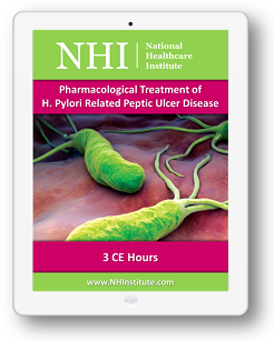 Pharmacological Treatment of H. Pylori Related Peptic Ulcer Disease