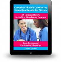 Complete Florida Nursing CE Bundle Including Mandatory Courses
