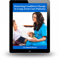 Detecting Condition Change in Long-Term Care Patients