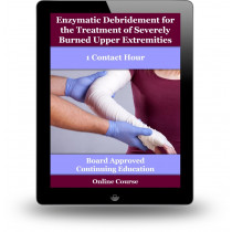 Enzymatic debridement for the treatment of severely burned upper extremities