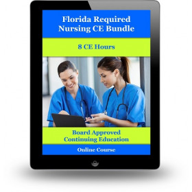 Florida Required Nursing CE Bundle